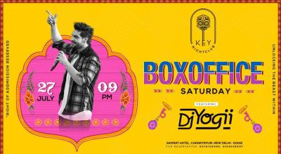 Box Office Saturday Ft. DJ Yogii