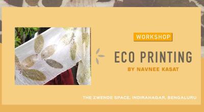 Eco Printing Workshop by Navnee Kasat