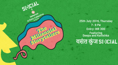 The Millennial Storytellers At Vasant Kunj Social