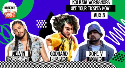 Breezer Vivid Shuffle Dance Workshop | Kolkata Edition