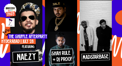 Breezer Vivid Shuffle Afterparty | Hyderabad edition