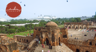 The Citadel of Djinns - Feroz Shah Kotla: An Experience
