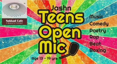Teens Open Mic - Lullanagar