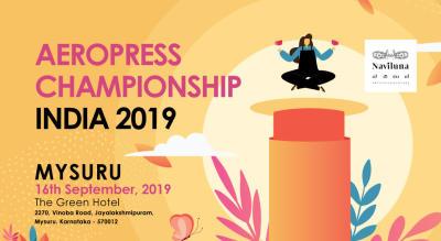 INDIAN AEROPRESS CHAMPIONSHIP 2019 : Mysuru Round