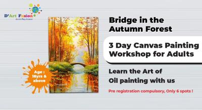 Oil Canvas Painting Workshop