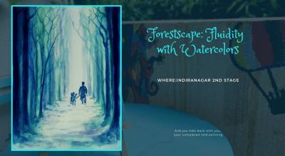 Fluid Watercolors Painting Party Indiranagar
