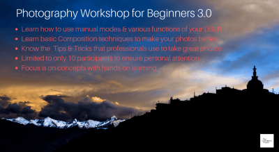 Photography Workshop for Beginners 3.0