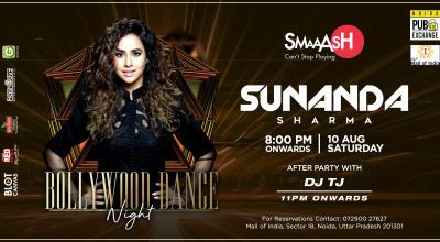 Sunanda Sharma Live at Noida Pub Exchange by Smaaash ,DLF Mall of  India