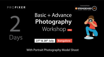 Basic + Advance Photography Workshop 2 Days