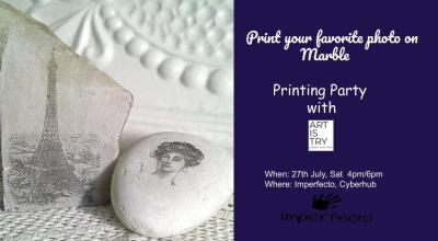 Printing Party with Artistry