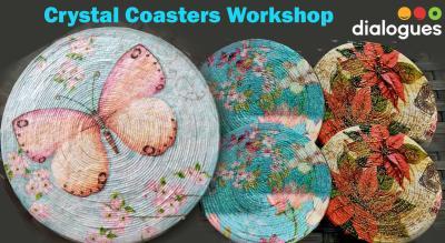 Crystal Coasters Workshop