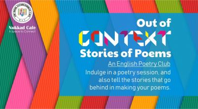 Out of Context - An English Poetry Club - S. B. Road