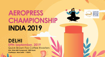 INDIAN AEROPRESS CHAMPIONSHIP 2019: Delhi Round