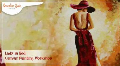 Lady in Red - Canvas Painting Workshop