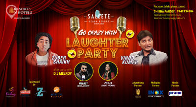 "Go Crazy with ""LAUGHTER PARTY"""