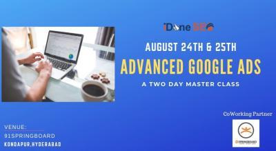 Advanced Google Ads Workshop