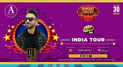 "BOMBAY CIRCUS INDIA TOUR #ft Ali Merchant -""Kadak Smashup"" - Udaipur"