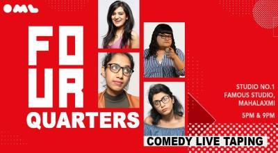 Four Quarters- Comedy Show Live Taping