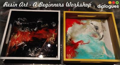 Resin Art On a Tray - Beginners Workshop