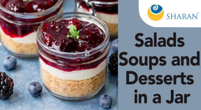 Salads Soups and Desserts in a Jar