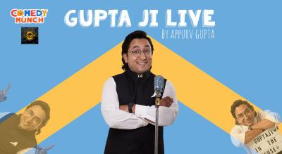 Comedy Munch: Gupta Ji Live Stand Up Comedy Show by Appurv Gupta