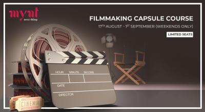 Filmmaking Capsule Course with Project Mynt