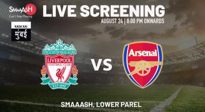 Live Screening: Liverpool vs Arsenal at Smaaash Lower Parel