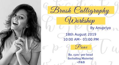Brush Calligraphy Workshop, Pune