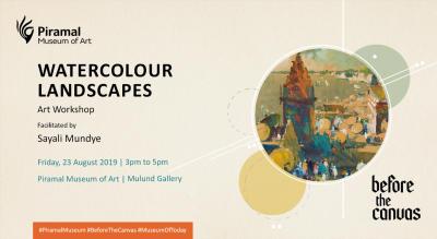 Watercolour Landscapes | Art Workshop