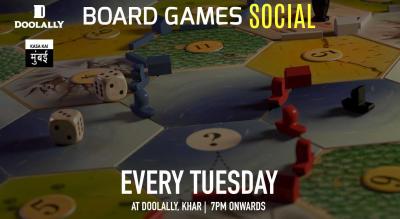 Board Games Social at Doolally Khar