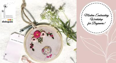 Modern Embroidery Workshop for Beginners
