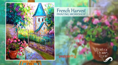 French Harvest Painting Workshop by Bombay Drawing Room