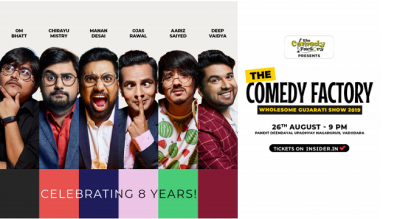 The Comedy Factory Wholesome Gujarati Show