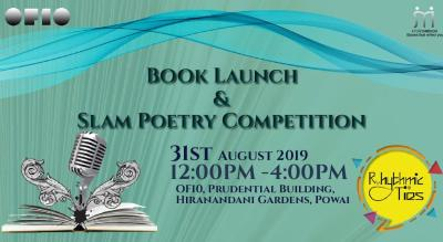 Slam Poetry Competition & Book Launch
