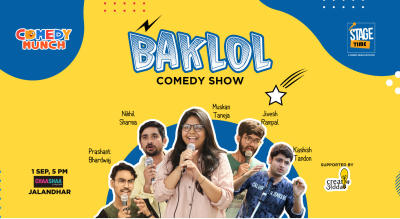 BAKLOL A stand up comedy show