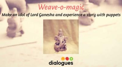 Ganesh Chaturti special Storytelling and Clay ganesha for kids