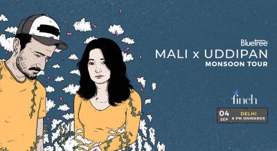 BlueTree presents Monsoon Tour featuring Mali x Uddipan | New Delhi
