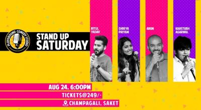 Stand Up Saturday with Ritul, Arun, Shreya & Kaustubh