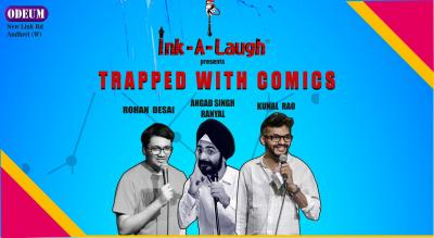 Ink-A-Laugh presents Trapped With Comics