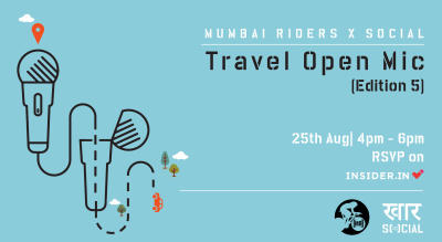 Social x Mumbai Riders: Travel Open Mic (Edition 5)