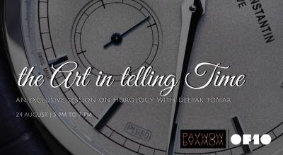 The Art In Telling Time