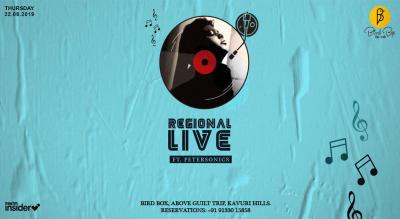 Regional Live Band ft.PETERSONICS   Bird Box-Bar&Cafe