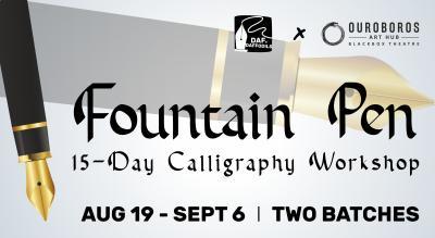 Fountain Pen Calligraphy Workshop