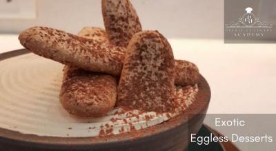 Exotic Eggless Desserts