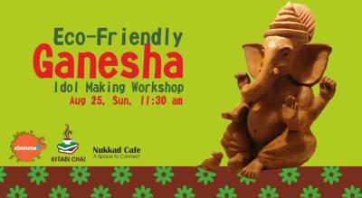 Eco-Friendly Ganesha Idol Making Workshop