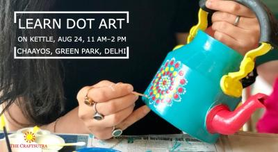 Dot Art on Kettle Workshop