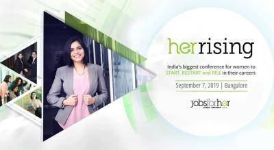 JobsForHer's HerRising Conference and Career Fair