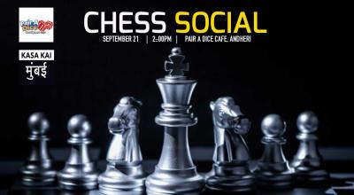 Chess Social At Pair A Dice Cafe Andheri