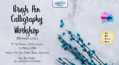 Brush Pen Calligraphy Workshop