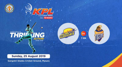 KPL 2019 | Mysuru Warriors vs Hubli Tigers
